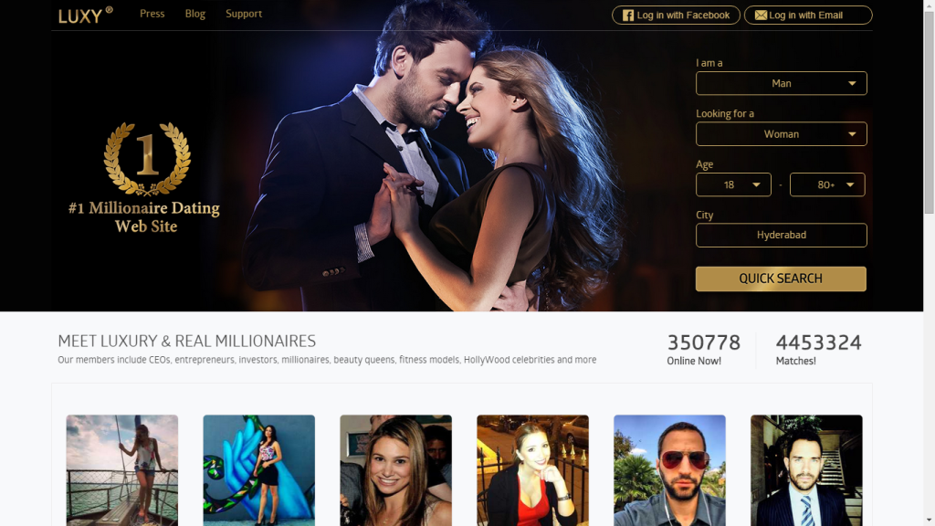 Best Millionaire Dating Sites on the Web